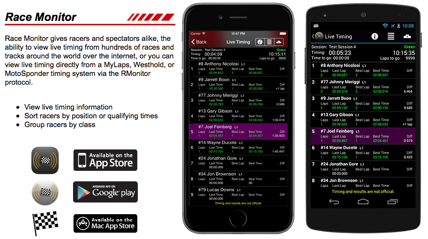 Race Monitor Download
